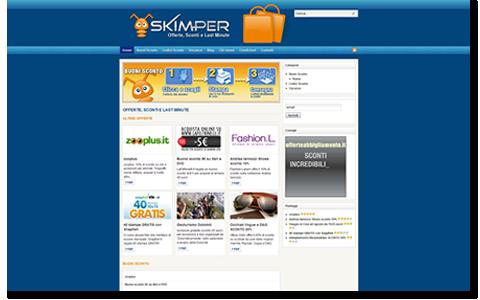 Skimper.it Offerte, sconti, promozioni, codici sconto e last minute