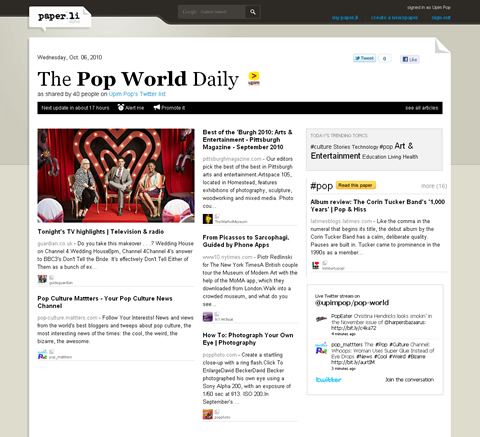 The Pop World Daily