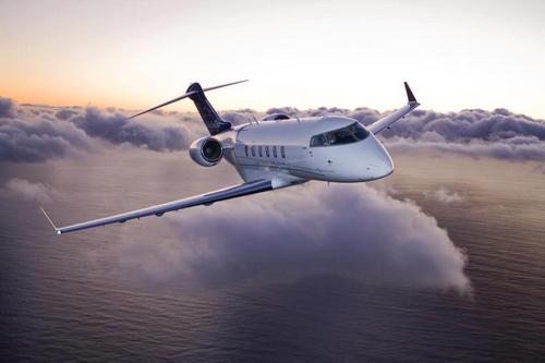 Jet Privati_Challenger 300 in volo