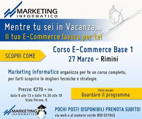 Marketing Informatico Corso E Commerce Base 1
