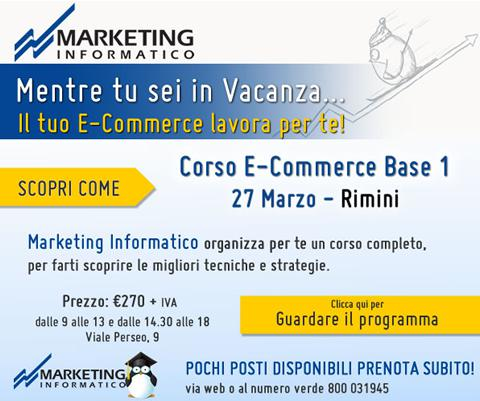 Marketing Informatico Corso E Commerce Base 1