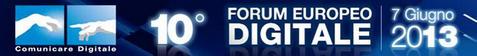Comunicare Digitale_Forum Europeo 2013