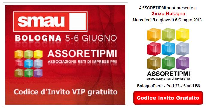 SMAU Bologna Reti di Imprese con ASSORETIPMI