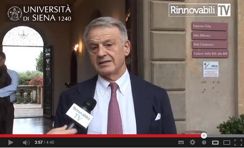 Corrado Clini ai microfoni di Rinnovabili.it