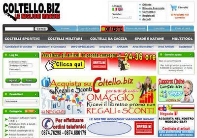 vendita coltelleria online